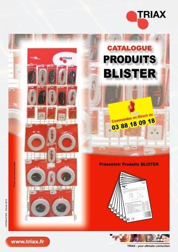 Catalogue Blister 2012 - Triax