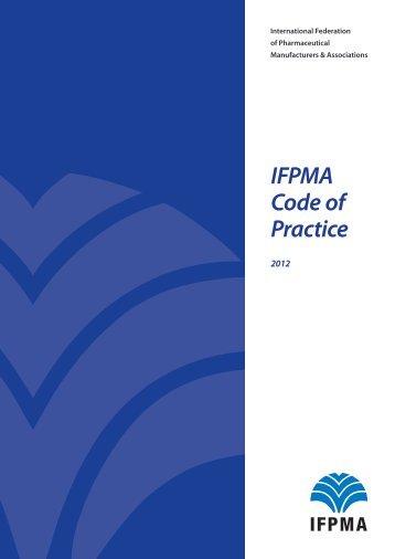 IFPMA Code of Practice 2012