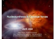 Nucleosynthesis in Classical Novae - Cyclotron Institute
