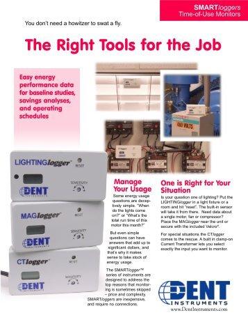 SMARTlogger Flyer - DENT Instruments