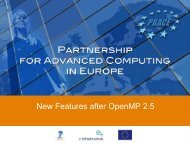 New Features after OpenMP 2.5 - Prace Training Portal