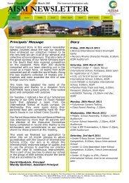 Issue 5 - Australian International School Malaysia