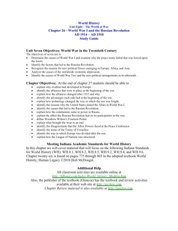war of the worlds study guide pdf
