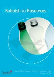 Lancashire Municipal Waste Management Strategy