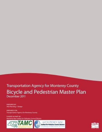 2011 Bicycle and Pedestrian Master Plan (PDF) - Transportation ...