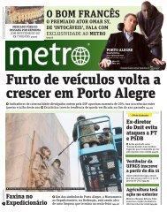 Furto de veículos volta a crescer em Porto Alegre - Metro