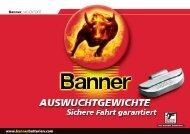 bleifreie auswuchtgewichte für pkw. - Banner GmbH