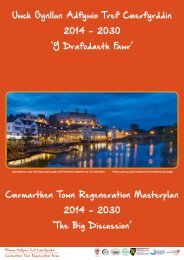 NEW - Carmarthen Masterplan exhibition full
