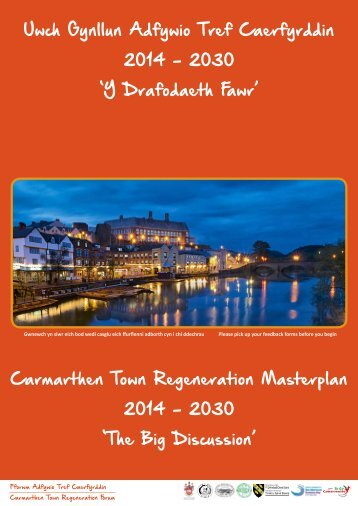 NEW - Carmarthen Masterplan exhibition full
