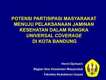 masyarakat pekerja informal - Kebijakan Kesehatan Indonesia