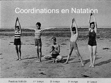 Coordinations en Natation