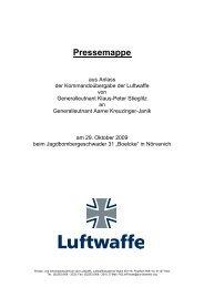 Pressemappe - Luftwaffe