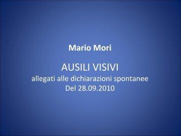 La difesa di Mario Mori (Pdf) - Corriere della Sera
