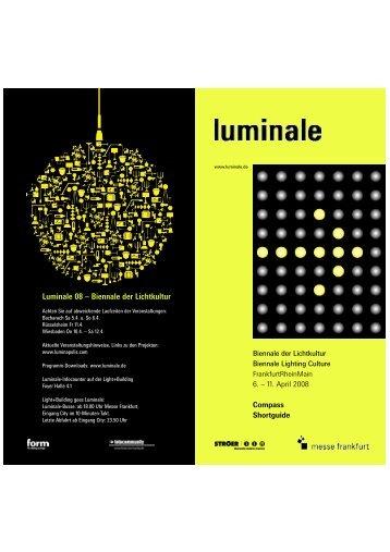 Luminale 08 – Biennale der Lichtkultur - Luminapolis