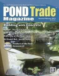 Download the January / February, 2013 PDF - Pond Trade Magazine