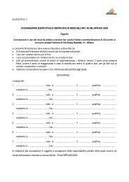 Dichiarazione sostitutiva di certificato - Milano Ristorazione