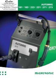 Migatronic Schweissgeräte Automig - Endler Industriebedarf