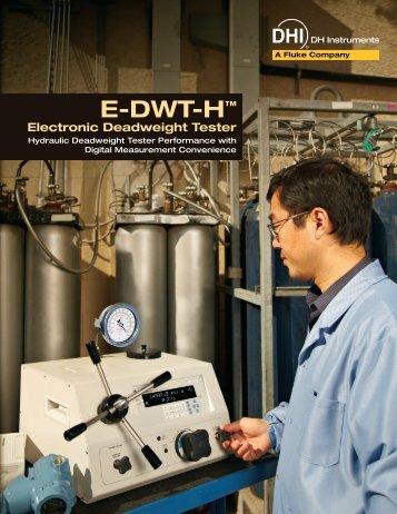 E-DWT-H™ - D-Ex Instruments