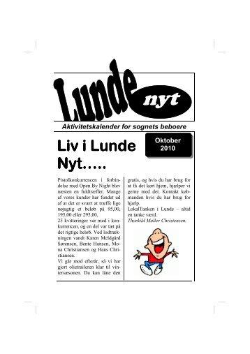 Liv i Lunde Liv i Lunde Nyt…..