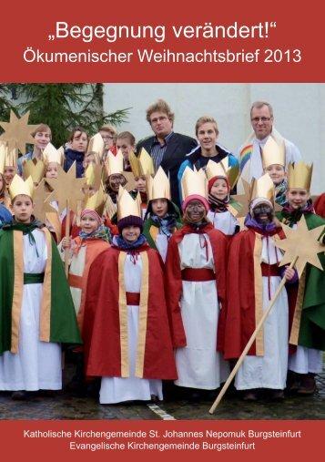 Aktueller Pfarrbrief - Katholisch in Steinfurt