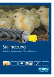 Stallheizung Geflügel - Skov A/S
