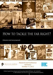 How to tackle the far right? - FES Budapest