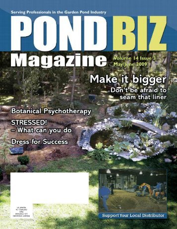Download the May / June 2009 PDF - Pond Trade Magazine
