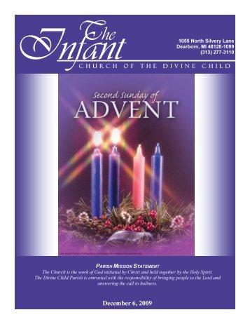 December 6, 2009 - Church of the Divine Child