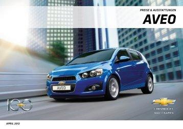 Download Aveo Ausstattungs - Chevrolet Deutschland Gmbh