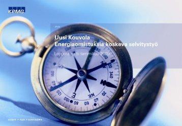 Energiaraportti - Kouvola