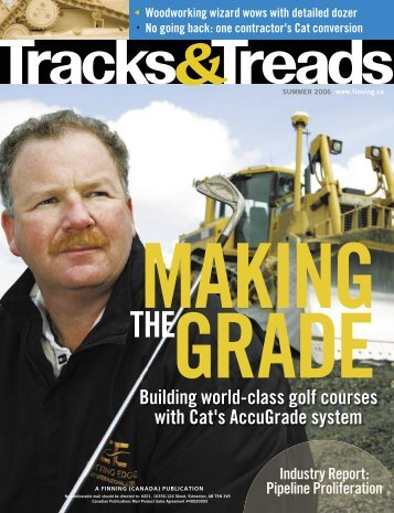 Building world-class golf courses with Cat's ... - Finning Canada