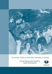 Talking Participation Taking Action - A Local Government Guide To ...