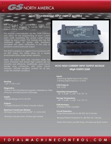 Module I-O High Input - GSNA.com