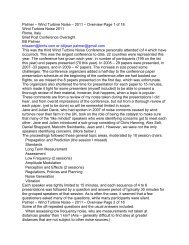 Palmer – Wind Turbine Noise – 2011 – Overview Page 1 of ... - Lenox