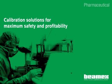 Calibration solutions for maximum safety and ... - Control System