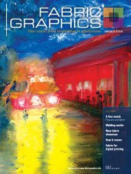 Fabric Graphics, September/October 2008, Digital Edition - Specialty ...