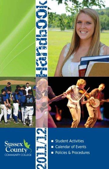 Handbook - Sussex County Community College