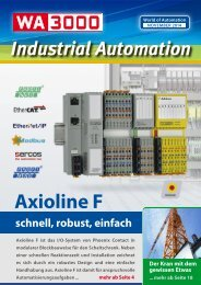 WA3000 Industrial Automation November 2014