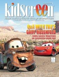 Q&A WITH THQ'S GARY ROSENFELD - Kidscreen