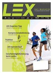Lex Magazin 01/2009 - Lunge Lauf- und Sportschuhe