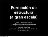 Presentación - Observatorio Astronómico Nacional - Universidad ...