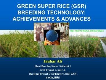 Session 3 - Tamil Nadu Agricultural University