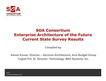 Industrial soa soa blueprint a toolbox for architects soa consortium enterprise architecture of the soa blueprint malvernweather Choice Image