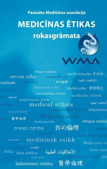 Medicīnas ētikas rokasgrāmata - World Medical Association
