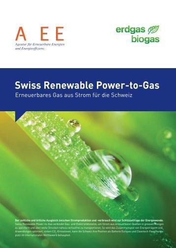 Swiss Renewable Power-to-Gas - Agentur für Erneuerbare Energie ...