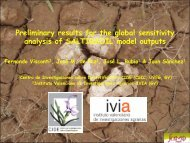Preliminary results for the global sensitivity analysis of ... - IPSC