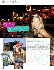 Cleo travel blogger interview - Kimberly Gillan