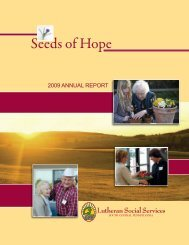 Seeds of Hope - Lutheran Social Services of South Central ...