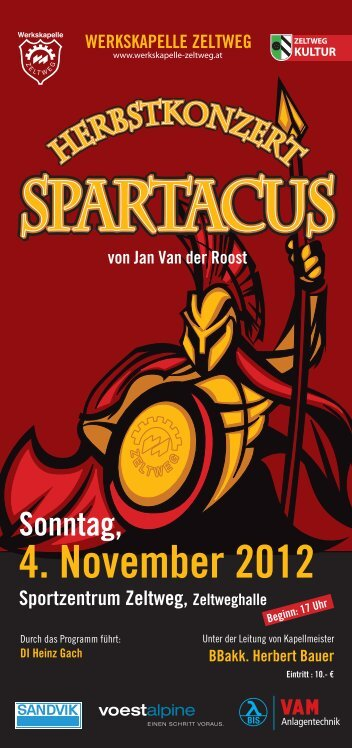 SPARTACUS - Werkskapelle Zeltweg