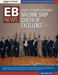machine shop center of excellence - Electric Boat Corporation